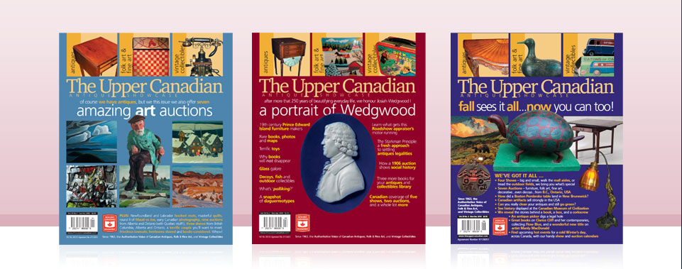 The Upper Canadian Magazine Covers